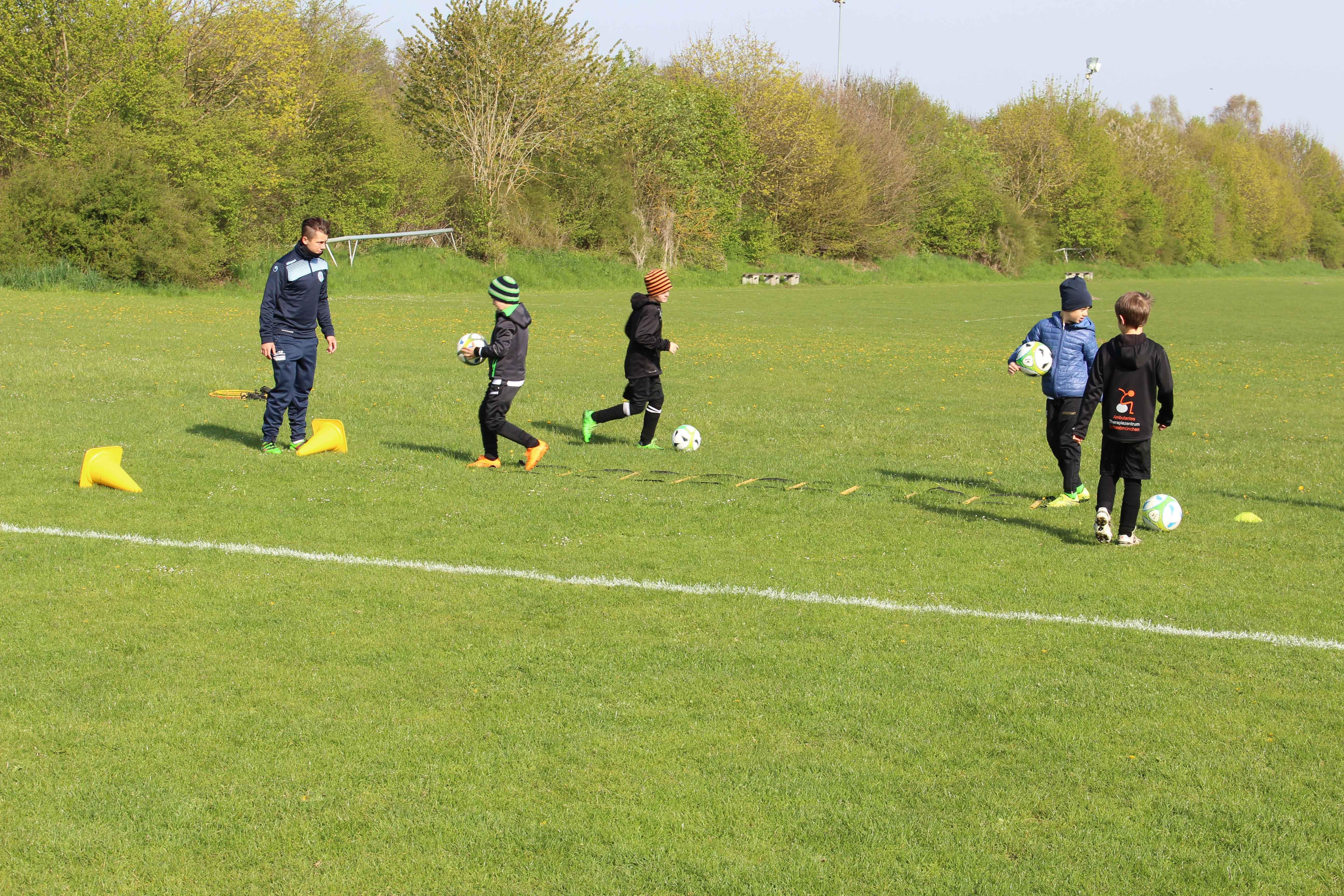 Ostercamp 2017 der Fußballschule Schwabmünchen