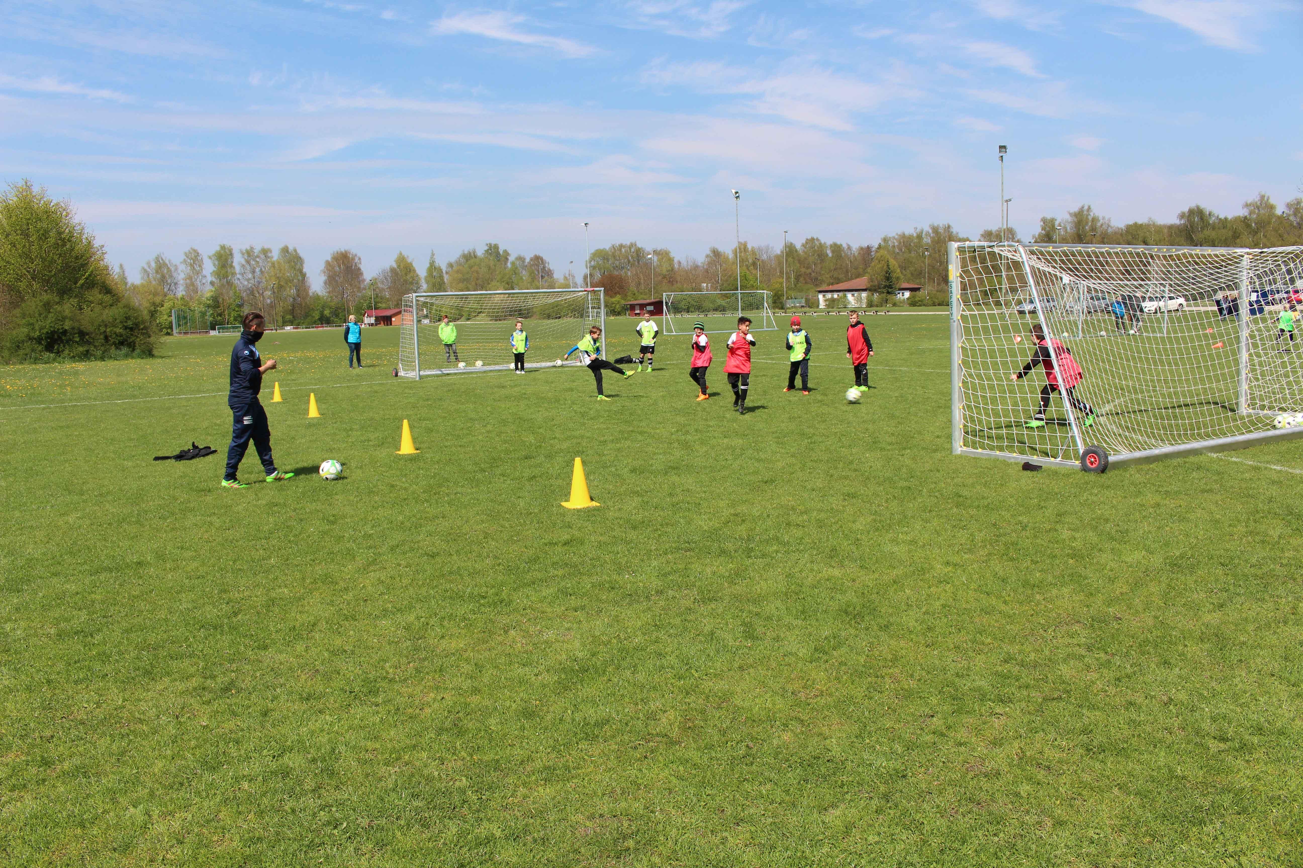 Fußballferien mit der Fußballschule Schwabmünchen