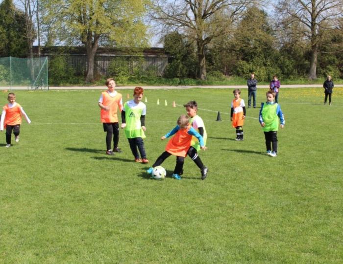 Fußball spielen bei der Fußballschule Schwabmünchen